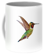 Anna Hummingbird Coffee Mug by Amy Kirkpatrick