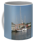 Annapolis Harbor Alongside Dock Street Coffee Mug
