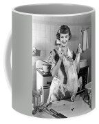 Anne Shirley And Her Turkey Coffee Mug by Underwood Archives