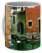Annecy Swan Coffee Mug