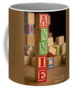 Annie - Alphabet Blocks Coffee Mug