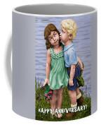 Anniversary Card 5x7 Coffee Mug