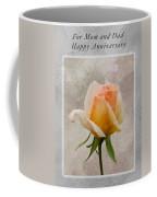 Annivesary Card Coffee Mug
