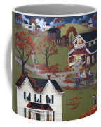 Annual Barn Dance And Hayride Coffee Mug by Catherine Holman