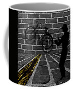 Another Bike On The Wall Coffee Mug