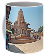 Another Hindu Temple N Bhaktapur Durbar Square In Bhaktapur -nepal Coffee Mug