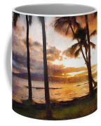 Another Maui Sunset - Pastel Coffee Mug
