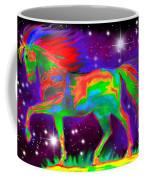 Another Rainbow Stallion Coffee Mug