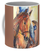 Horse In Watercolor Another Sunrise Coffee Mug