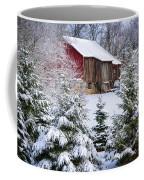 Another Wintry Barn Coffee Mug