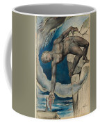 Antaeus Setting Down Dante And Virgil In The Last Circle Of Hell Coffee Mug