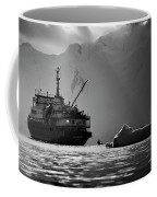 Antarctican Expedition 2013.  Ship Name Coffee Mug