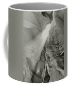 Antelope Canyon Light Black And White Coffee Mug