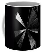Antenna- Black And White  Coffee Mug