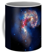 Antennae Galaxies Collide 2 Coffee Mug