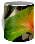 Anthurium In Red And Green Coffee Mug