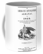 Anti-slavery Almanac, 1844 Coffee Mug