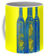 Antibes Blue Bottles Coffee Mug by Ben and Raisa Gertsberg