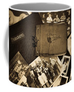 Antique Autograph And Photo Albums And Photos Coffee Mug by Amy Cicconi