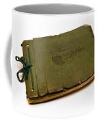 Antique Autograph Book Coffee Mug