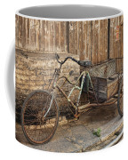 Antique Bicycle In The Town Of Daxu Coffee Mug