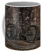 Antique Bicycle Coffee Mug by Susan Candelario
