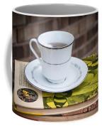 Antique Books And Tea Coffee Mug