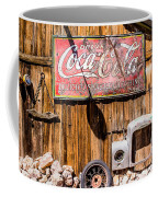 Antique Building At The Techatticup Gold Mine Coffee Mug