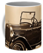 Antique Car In Sepia 1 Coffee Mug