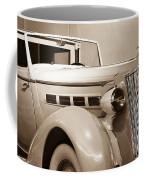 Antique Car In Sepia 2 Coffee Mug