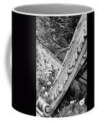 Antique Carved Wood Facade Piece Coffee Mug