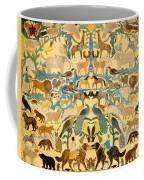 Antique Cutout Of Animals  Coffee Mug