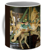 Antique Dentzel Menagerie Carousel Cat Coffee Mug by Rose Santuci-Sofranko