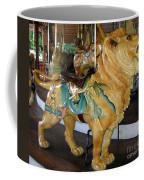 Antique Dentzel Menagerie Carousel Lion Coffee Mug by Rose Santuci-Sofranko