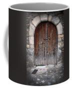 Antique Door Wood Coffee Mug