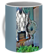 Antique Edison Phonograph In The Boardwalk Plaza Lobby - Rehoboth Beach Delaware Coffee Mug