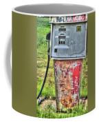 Antique Gas Pump 3 Coffee Mug