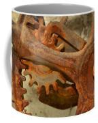 Antique Hand Mixer Gears Coffee Mug