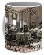 Antique Independence Hall Coffee Mug by Olivier Le Queinec