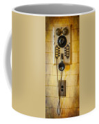 Antique Intercom Coffee Mug