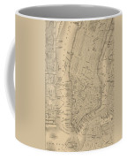 Antique Manhattan Map Coffee Mug