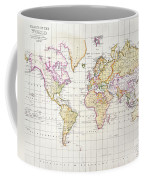 Antique Map Of The World Coffee Mug by James The Elder Wyld