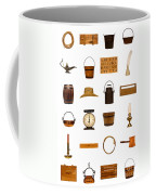 Antique Objects Collection Coffee Mug