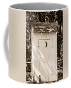 Antique Outhouse Coffee Mug