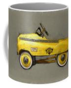 Antique Pedal Car Lll Coffee Mug by Michelle Calkins