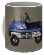 Antique Pedal Car V Coffee Mug by Michelle Calkins