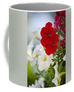 Antique Petunia Flowers Coffee Mug
