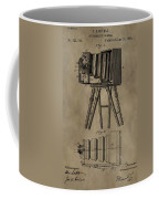 Antique Photographic Camera Patent Coffee Mug
