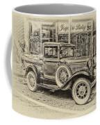 Antique Pickup Truck Coffee Mug