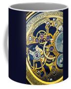 Antique Pocket Watch Gears Coffee Mug by Garry Gay